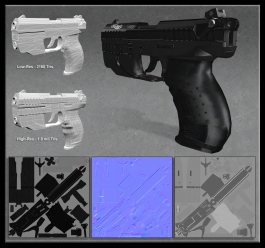 Walther P22 Game Model