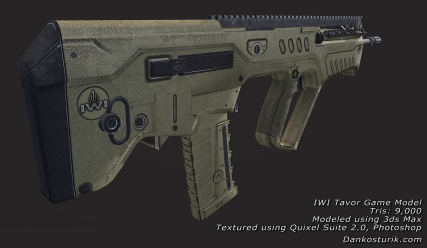 IWI Tavor Game Model