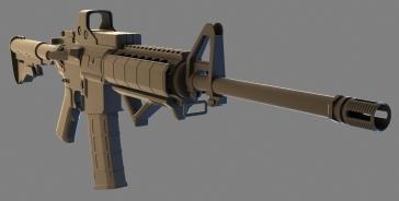 AR15 Game Model