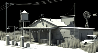 WIP Gas Station