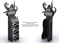 Kraken 3D Standee for Halloween 01