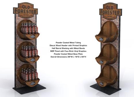 Old Forester Rack 03